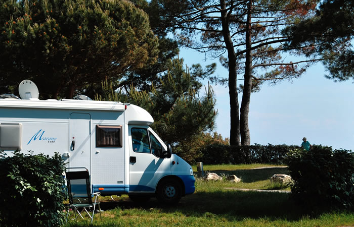 Emplacement: camping-car